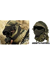 Miltec Shemagh keffieh Cheche US Army, Palästinensisches Bandanna, Airsoft Paintball Outdoor