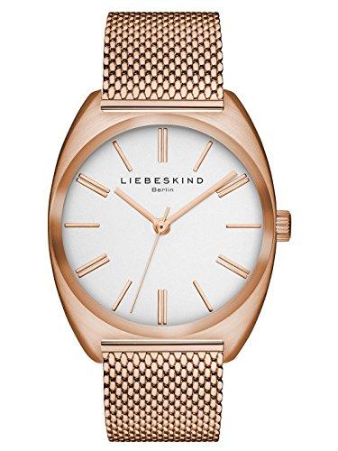 Liebeskind Berlin Damen-Armbanduhr Mesh Analog Quarz