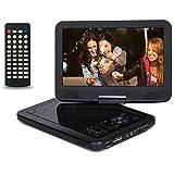 "Saachi 10.1"" Multi All Region Free Portable DVD Player With 270 Swivel Screen"