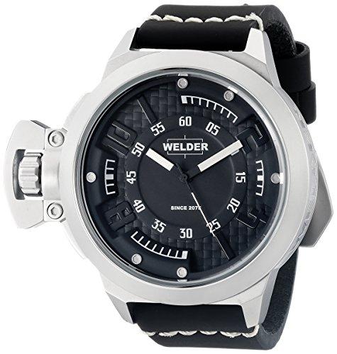 Welder Unisex-Armbanduhr Analog Quarz Leder K24 3608