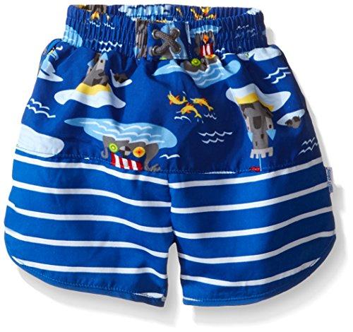 Preisvergleich Produktbild i play. 722154-642-42 Mix und Match Ultimative Schwimmwindel Board Shorts 3-6 Monate, Royal Viking Sea