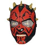 Elektronische Darth Maul Maske spricht Englisch 36767
