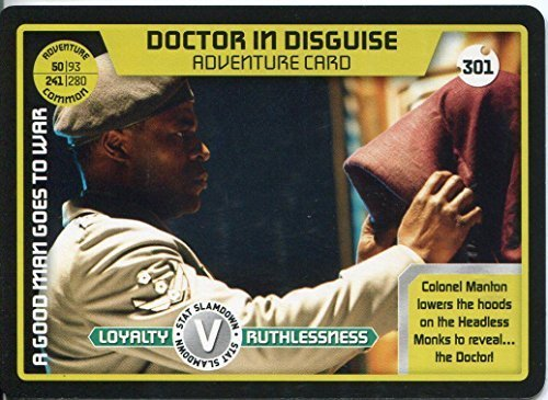 Used, Doctor Who Monster Invasion Extreme Card #301 Doctor for sale  Delivered anywhere in UK