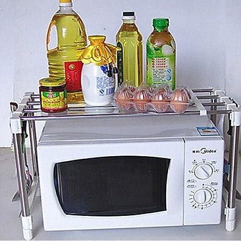 JSGN-Supporto Multifunzionale Microonde bagagli, W30.5cm x L50cm x