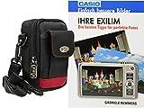 Foto Kamera Tasche Bag mit Regencape plus Handbuch Ihre Exilim Casio EX-ZR 800 ZR700 ZR300 ZR200 ZR1000 H50