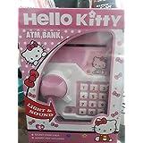 Signature Enterprises ATM For Kids - Piggy Savings Bank With Electronic Lock - Kids Money Bank - Toy Money Bank For Kids - Hello Kity Bank With Sound