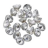 Hongma Bouton Couture Cristal Artificiel Diamant Meuble Canapé Sofa Tête de Lit Chaise Décoration...