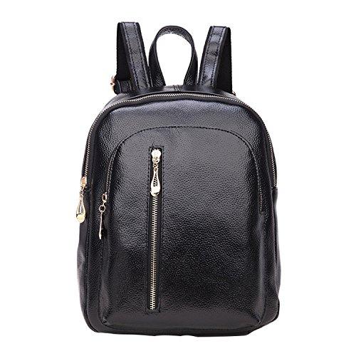 Shijinshi ,  Damen Rucksackhandtaschen schwarz
