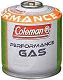 Coleman C300 Performance Bombola Gas con Valvola, Green