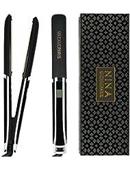MadameParis - Lisseur Infrarouge Edition Nina 2018- Lisseur Cheveux Professionnel Plaques en Céramique - Fer à Lisser Infrarouge avec Technologie Ionique et Chauffage Infrarouge Ultra Rapide