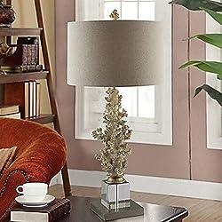 Lámpara de mesa decorativa tradicional/clásica para cristal de dormitorio 220V