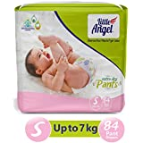 Little Angel Baby Diaper Pants, Small - 84 Count