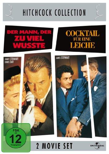 Bild von Hitchcock-Collection: Der Mann, der zuviel wußte / Cocktail für eine Leiche [2 DVDs]