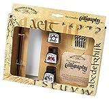 Winsor & Newton Kalli, Calligraphy, 3 Farben & Zubehör, Kalligraphie-Set