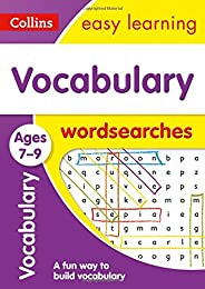 Vocabulary Word Searches Ages 7-9: Prepare for school with easy home learning (Collins Easy Learning KS2)