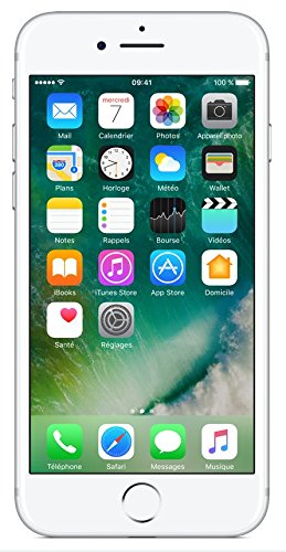 "Apple iPhone 7 - Smartphone con pantalla de 4.7"" (Wi-Fi, Bluetooth, 128 GB, 4G, cámara de 12 MP, iOS) plata"