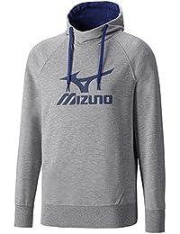 Mizuno k2ec6653–14Pull à capuche Logo pour Homme Bleu marine
