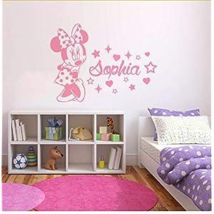 Wandtattoo Kinderzimmer Minnie Mouse Günstig Online Kaufen Dein