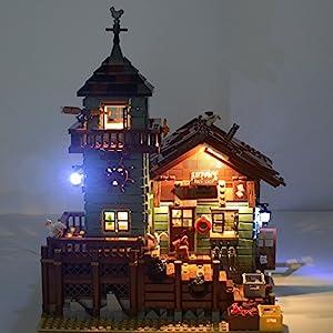 LIGHTAILING Set di Luci per (Vecchio Negozio dei Pescatori) Modello da Costruire - Kit Luce LED Compatibile con Lego… 8 spesavip