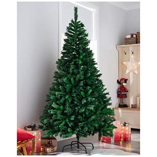 WeRChristmas Albero di Natale con 521 Punte, Verde, 180 cm