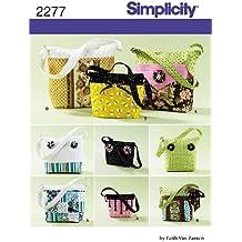 Simplicity 2277 - Patrón de costura para bolsos de mujer