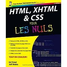 HTML, XHTML et CSS pour les nuls