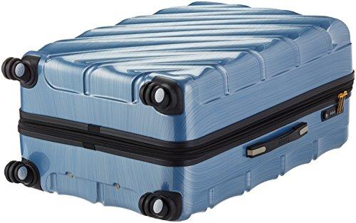 Shaik 7203046 Trolley Koffer, 2er Set (M, XL), himmelblau -