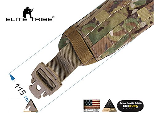 AIRSOFT Jagd Gepolstert MOLLE Taille Gürtel Tactical CP Stil AVS Low Profile Gürtel multicam