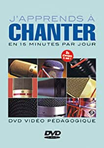 Laigle J'Apprends A Chanter En 15 Minutes Par Jour Voice Dvd French