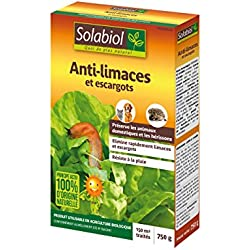 SOLABIOL SOLIMA750 Anti-limaces et escargots - Granules d'origine Naturelle 750g / 150 m2, Jaune