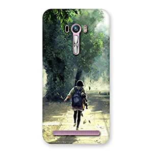 Back To Home Back Case Cover for Zenfone Selfie