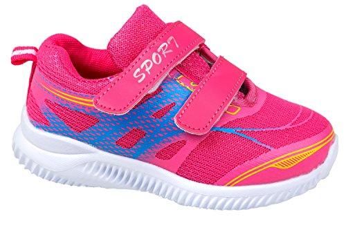 gibra , Chaussures spécial sport en salle pour fille Pink/Blau
