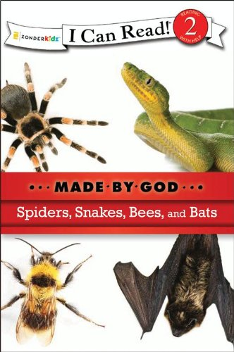 Spiders, snakes, bees, and bats.