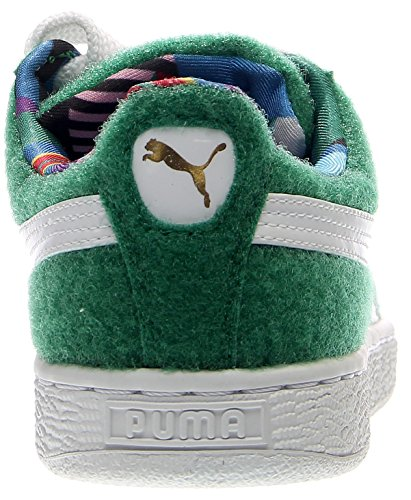 Puma Basket X Dee & Ricky CR Synthétique Baskets Verdant Green-White