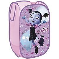 Vampirina Disney Cesta pongotodo desplegable guarda juguetes 36x36x58cm