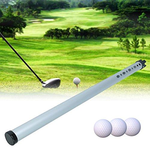 Faway Golf Ball Picker, tragbares Golf Ball Picker Sport Praxis SHAGGER Pick-Ups Tube Aluminium
