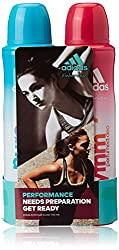 adidas Women Deodorants (Pack of 2)