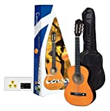 Tenson F502090 - Pack guitarra clásica 3/4, color miel