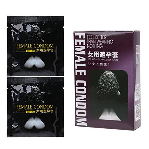 longsw 2weiblich Kondome Erwachsene Orgasmus Latex stimulieren Kondom für Frauen
