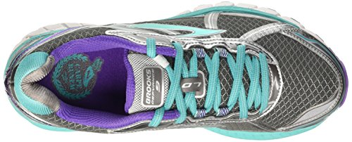 Brooks Defyance 9 W, Scarpe da Corsa Donna Multicolore (anthracite/ceramic/passion)