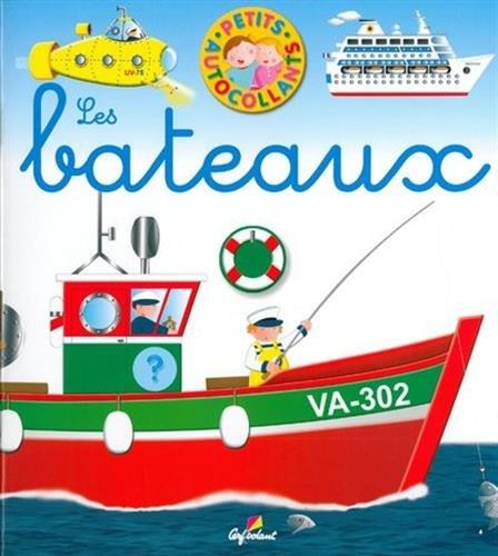 Les bateaux - Petits autocollants (03)