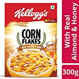 Kellogg's Corn Flakes with Real Almond and Honey With Iron Shakti , 300 g