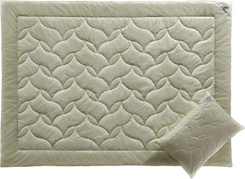 WOOL CONFORT by WHITE BOUTIQUE- Luxus Wolle Decke- Bettdecke- Steppdecken/ Bettdecken zum Schlafen- Cooles Schlafen- Öko-Produkt- 195/215 cm- 2 Stück