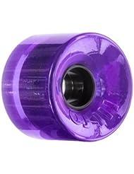OJ Wheels Hot Juice 78A Skateboard Wheels (Transparent Purple, 60mm) by OJ