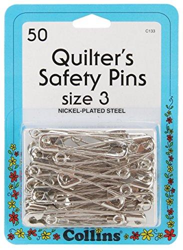 Dritz Collins Quilter 's Sicherheit Pins, mehrfarbig, 3,17x 9,14x 12,7cm