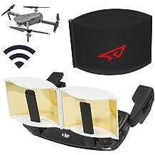 DJI Mavic Pro controlador transmisor de señal estendere parabólico de aluminio Antena Radar Range Booster