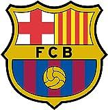 Stickers Muraux logo FC Barcelone Autocollants muraux en vinyle (40 x 40 cm)