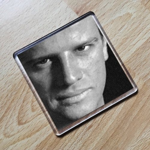 Seasons CHRISTOPHER LAMBERT - Original Art Coaster #js002