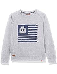 Lego Wear Boy Saxton 301-Sweatshirt, Sweat-Shirt Garçon