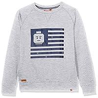 Legowear Boy's Lego Saxton 301 Sweatshirt, Grey (Grey Melange), 5 Years (Manufacturer Size:110)